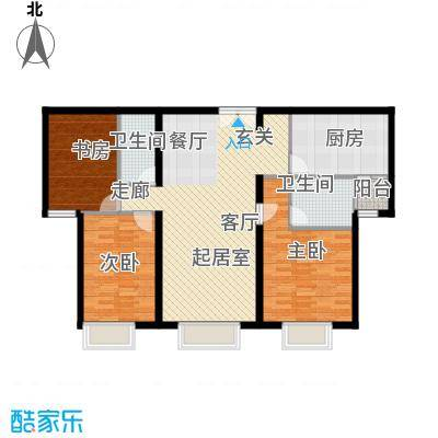 禧福汇国际社区135.00㎡234单元02三室户型10室
