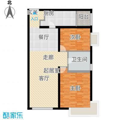 禧福汇国际社区107.00㎡R1-B户型10室
