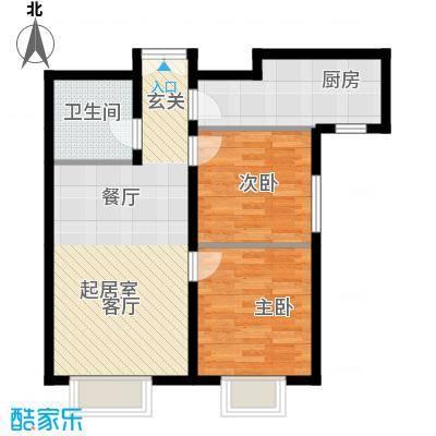 禧福汇国际社区86.00㎡R72-02户型10室