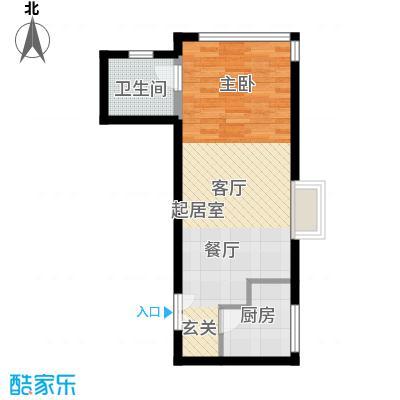 禧福汇国际社区52.00㎡R1-A户型10室