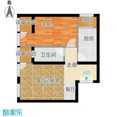 中铁置业・翰庭52.66㎡3-1-101-1101户型10室