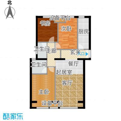 中铁置业・翰庭121.00㎡C1户型10室