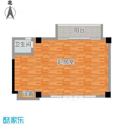 新华联丽景・珊瑚湾78.36㎡7号楼商1户型