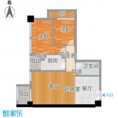 北京香颂C户型一居户型