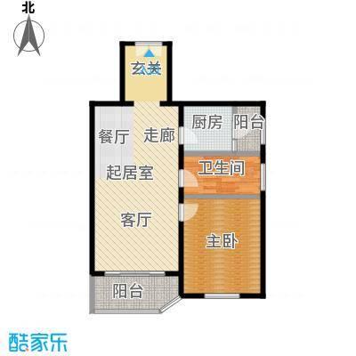绿荫芳林76.00㎡绿荫芳林76.00㎡户型10室