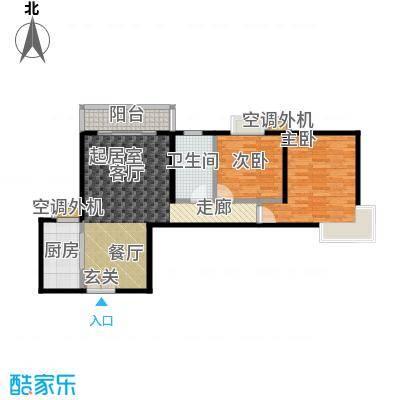 米罗公元・方丹苑Ⅱ92.78㎡2号楼A户型