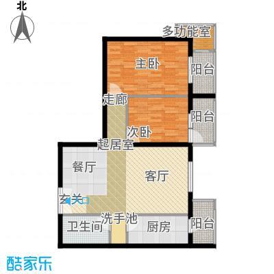 翠微生活-静源居88.45户型