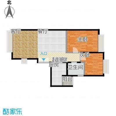 宝星・华庭77.23㎡二期1号A、2号D、3号A、4号D户型10室