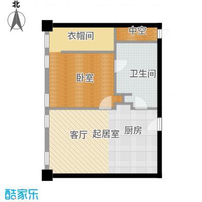 大悦公寓89.55㎡S12户型10室