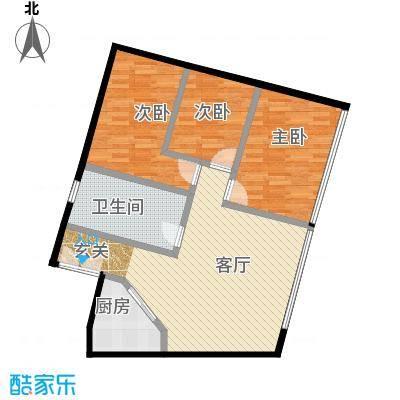林达海渔广场119.08㎡E户型10室
