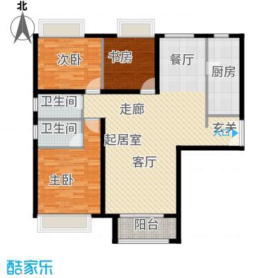 禧福汇国际社区148.00㎡4单元03三室户型10室