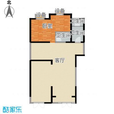 新华联丽景・珊瑚湾151.25㎡7号楼商3户型