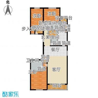 北京GOLF公寓1号楼D1户型