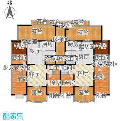万泉新新家园27号楼二单元顶层户型