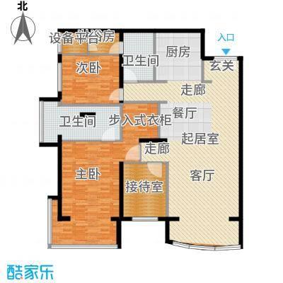 PARK北京163.00㎡C1户型2室2卫