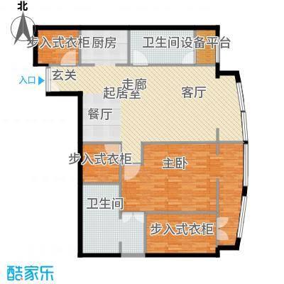 PARK北京126.00㎡B户型1室2卫