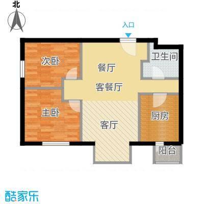 悠唐・麒麟公馆85.80㎡D户型10室