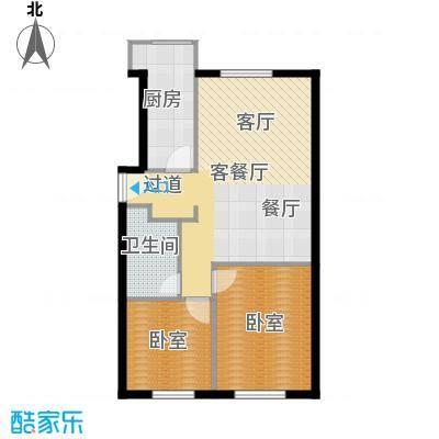 悠唐・麒麟公馆94.80㎡F户型10室