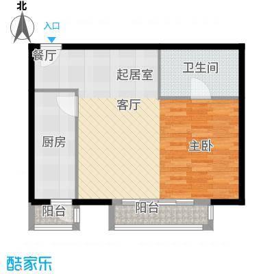 悠唐・麒麟公馆70.71㎡02户型10室