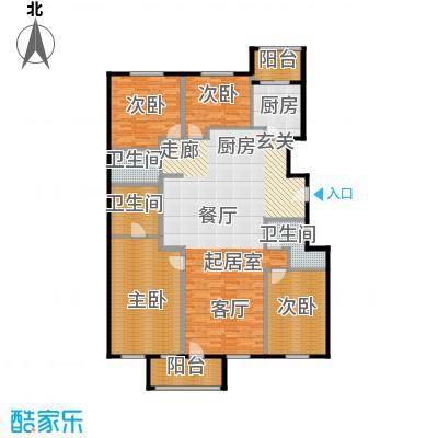 唐宁ONE180.00㎡CEO官邸户型10室