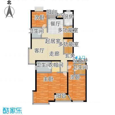 FESCO国际公寓(外企公寓)201.53㎡四室两厅两卫户型