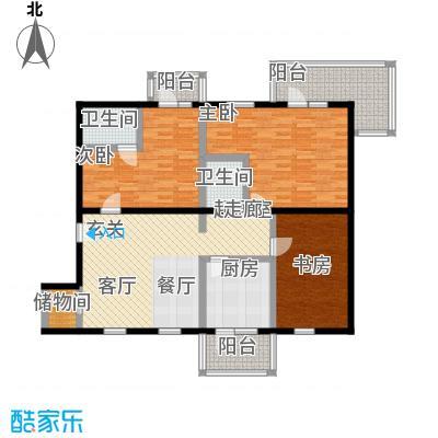 丽都东方国际公寓东朝向户型