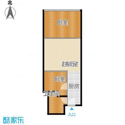金泉时代(保利金泉广场)90.00㎡B户型10室