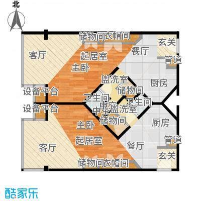 泰悦豪庭62.42㎡1室1厅户型