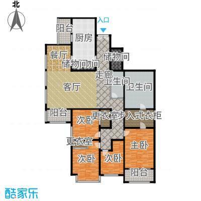 光彩国际公寓272.00㎡四室两厅两卫户型