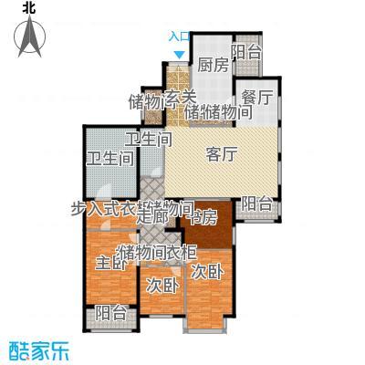 光彩国际公寓272.02㎡A户型