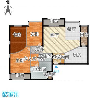 光彩国际公寓218.00㎡C户型