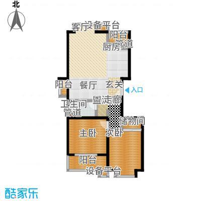 世桥国贸公寓116.08㎡A户型