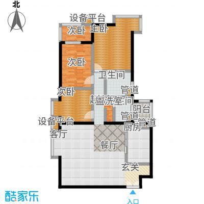 世桥国贸公寓145.59㎡甲户型