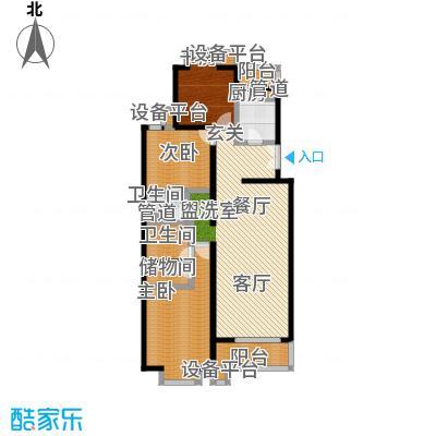 世桥国贸公寓145.39㎡B户型