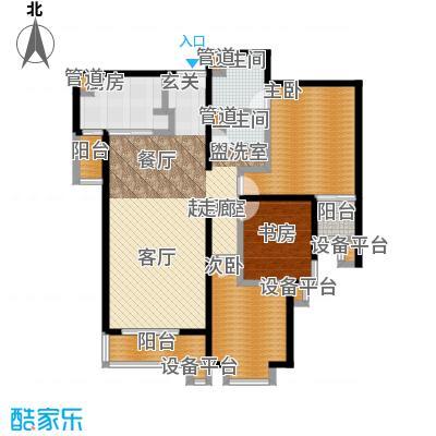 世桥国贸公寓154.30㎡丙、戊户型