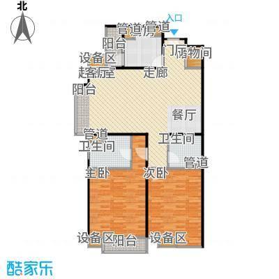 东润枫景124.03㎡东润枫景124.03㎡户型10室