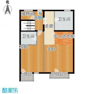 亿城西山华府248.00㎡南区B-A六层中间跃层户型10室