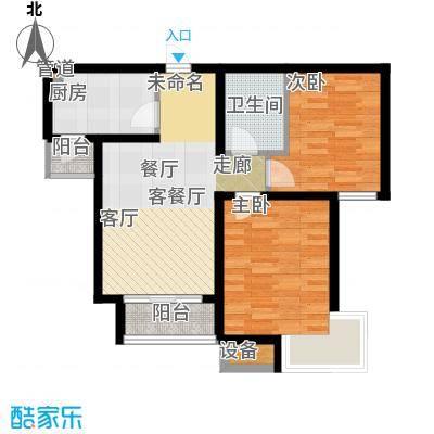 乐东馨园86.96㎡采阳居户型