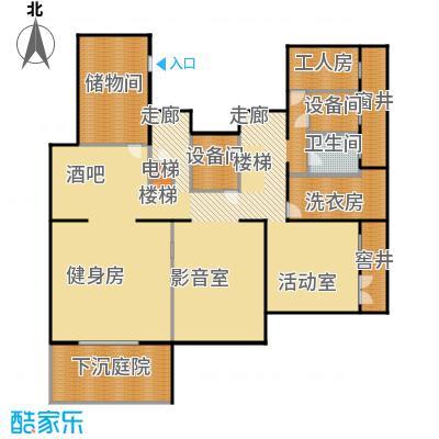 香山清琴150.05㎡450N户型二层户型