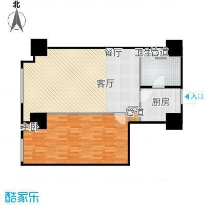 金盛国际82.14㎡金盛国际82.14㎡户型10室