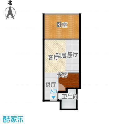 金泉时代(保利金泉广场)63.57㎡C户型10室