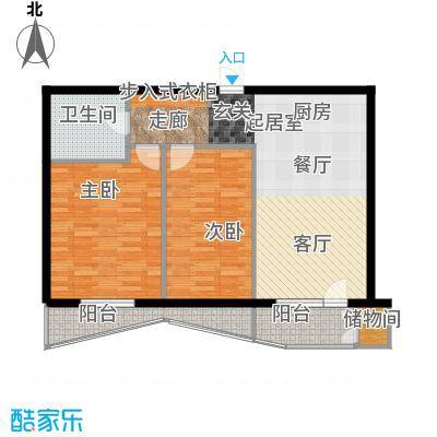 美然生态馆91.18㎡D2户型10室