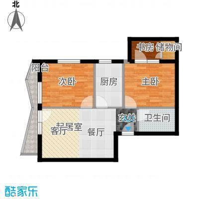 美然生态馆61.78㎡A1户型10室