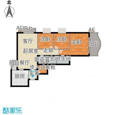 安贞雅园(富仁名苑)138.23㎡A2户型