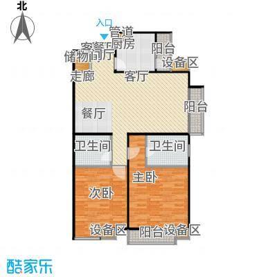 东润枫景124.01㎡东润枫景124.01㎡户型10室