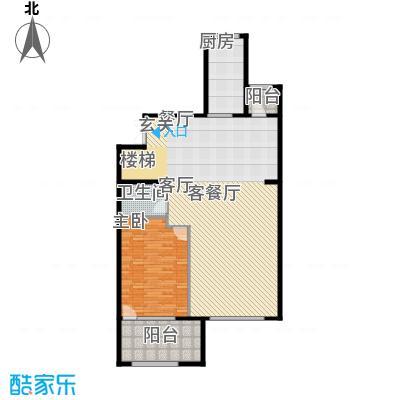 亿城西山华府248.00㎡南区B-A五层中间跃层户型10室