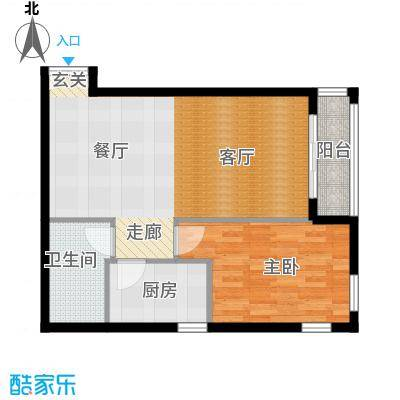 五栋大楼E栋03户型