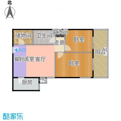 润景家园92.63㎡80#楼G户型
