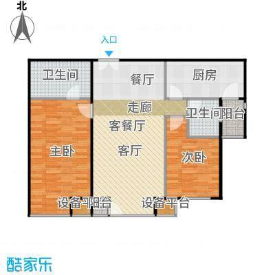 西成忆树13号楼三单元03-四单元02户型