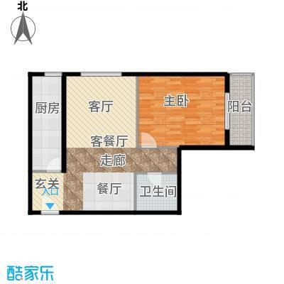 雍景山岚69.80㎡A反户型10室